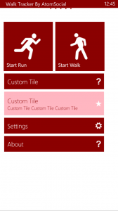 My Walk Tracker App